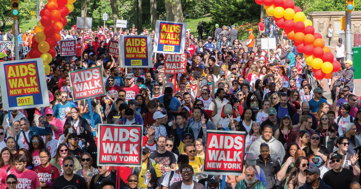 about aids walk new york 2018