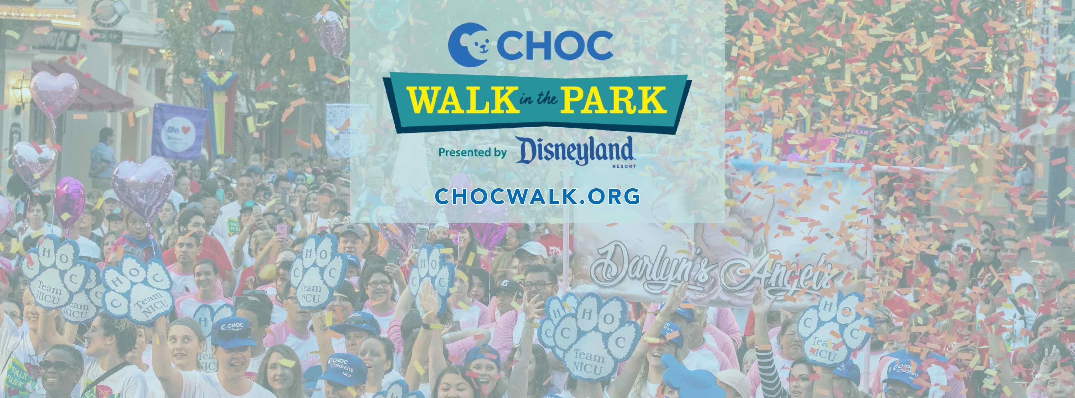 Fundraising Incentives - CHOC Walk 2019