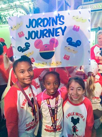 Jordin's Journey Sign
