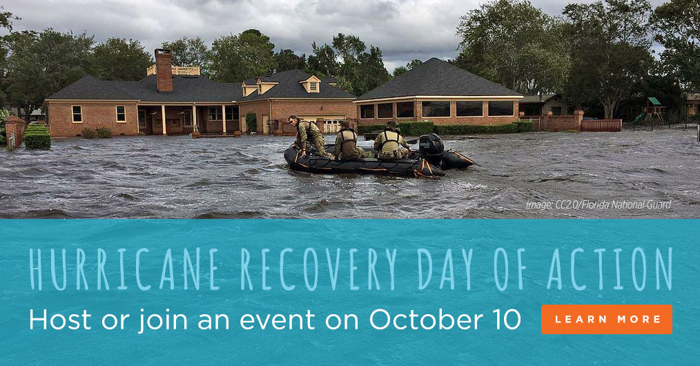 Hurricane Recovery Day of Action