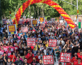 aids walk community