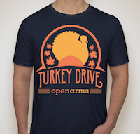 Turkey Drive t-shirt